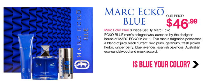 Marc Ecko Blue