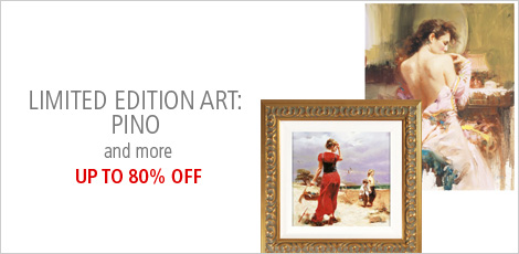 Limited Edition Art: Pino and More