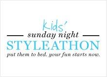 Kids' Sunday Night Styleathon