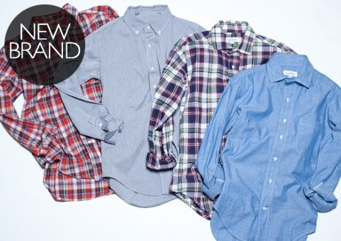 Shop Fall Favorites: Classic Shirting