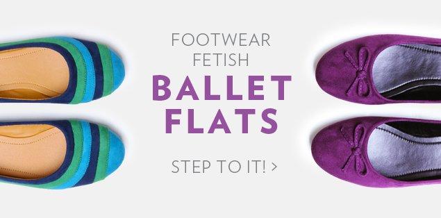 Footwear Fetish Ballet Flats