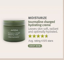 MOISTURIZE tourmaline charged hydrating crme. shop now.