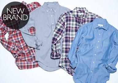 Shop Fall Favorites: Classic Shirting