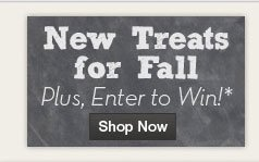 New Treats for Fall