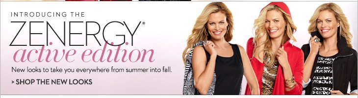 Introducing the Zenergy® Active Edition