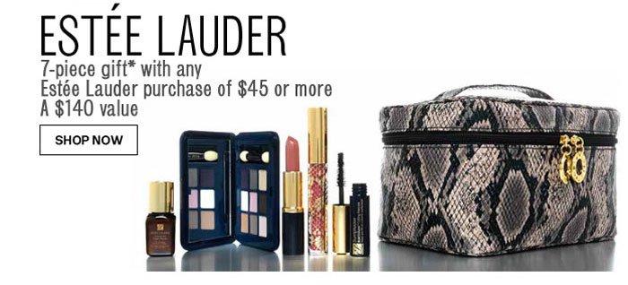 Free 7-Piece Gift from Estée Lauder