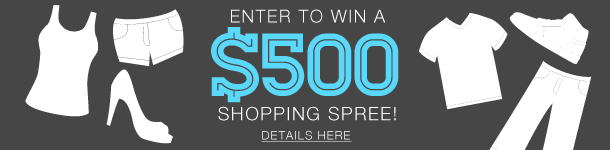 Enter to Win $500 Shopping Spree