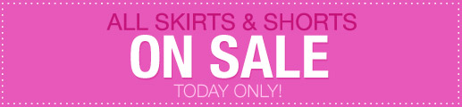 All Skirts & Shorts On Sale