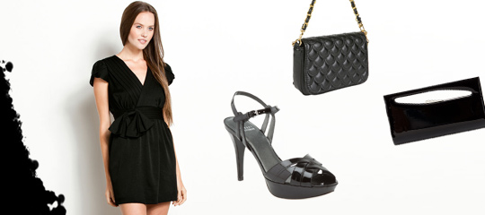 Paint the Town Black:Heels, Bags, and LBDs