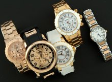Get the Look Men's & Women's Rose Gold Watches