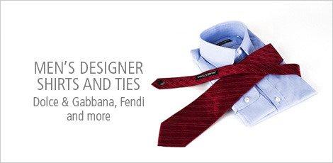 Men's Designer Shirts and ties