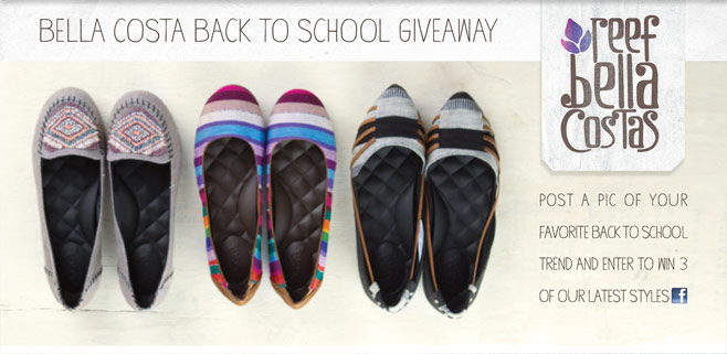 Bella Costa back to School Giveaway