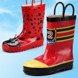 Puddle Jumpers: Kids' Rain Boots