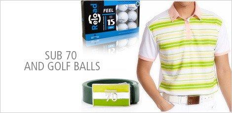 Sub 70 and Golf balls