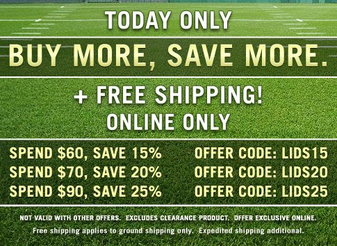 Today only! Buy More, Save More.