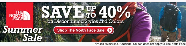 Shop The North Face Sale