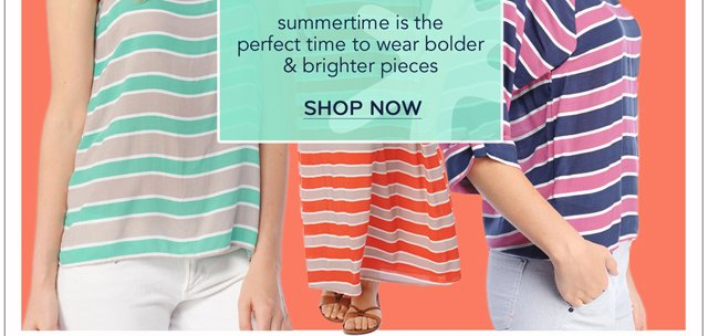 Summer stripes + a free beach towel!