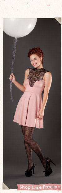 Shop Lace Frocks