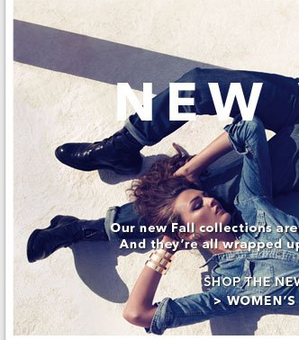 Shop The New Collection - Womens