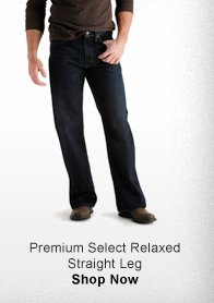 PREMIUM SELECT RELAXED STRAIGHT LEG >