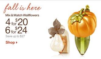 Mix & Match Wallflowers