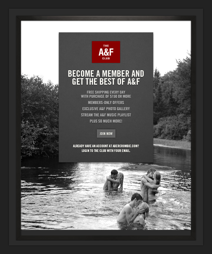 The A&F CLUB 