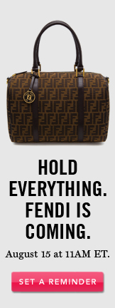 Hold Everything. Fendi Is Coming. Set A Reminder.