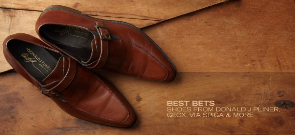 BEST BETS: SHOES FROM DONALD J PLINER, GEOX, VIA SPIGA & MORE, Event Ends August 22, 9:00 AM PT >