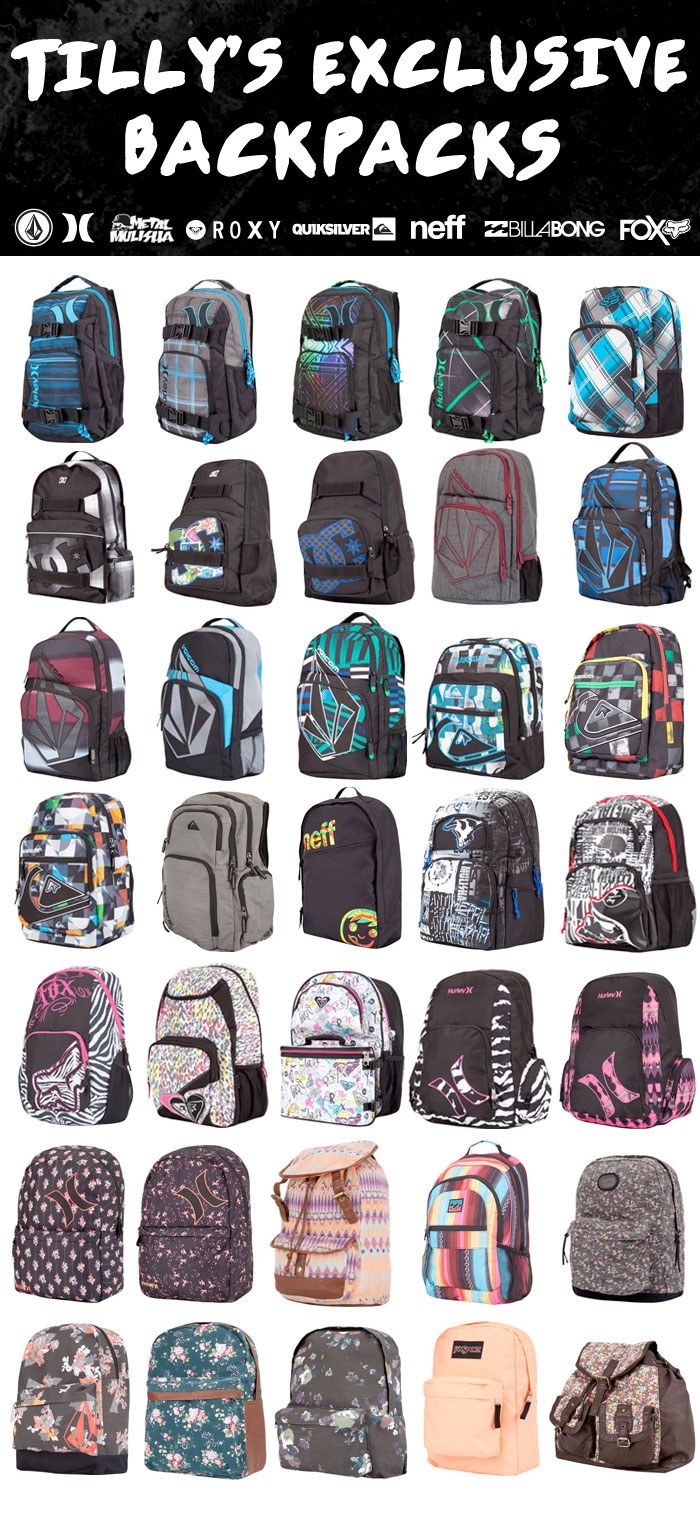 132206e716 Tilly s  Exclusive BACKPACKS from Volcom
