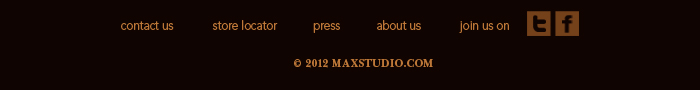 Find Maxstudio On Facebook And Twitter