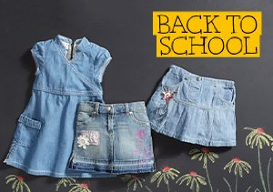 Back to School: First Day Back Denim