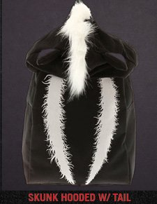 SKUNK HOODED W/ TAIL