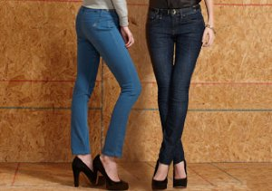 The Denim Shop + Who What Wear: The Skinny Jean