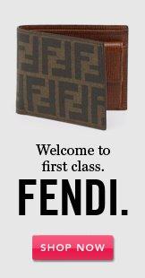 Fendi. Shop Now.
