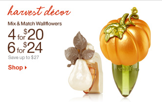 Mix & Match Wallflowers – 4 for $20 or 6 for $24