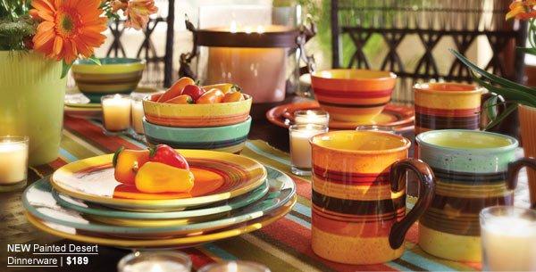 NEW Painted Desert Dinnerware | $189