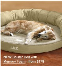 NEW Bolster BEd with Memory Foam | $179