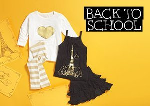BACK TO SCHOOL: IVY & OLIVIA