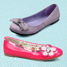 Skip to My Lou: Girls' Shoes