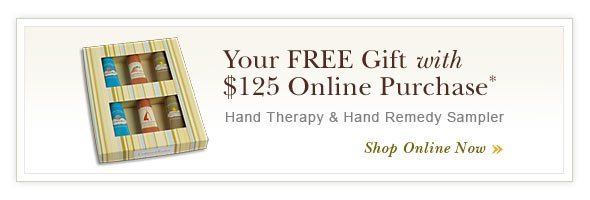 FREE Gift with $125 Online Purchase.
