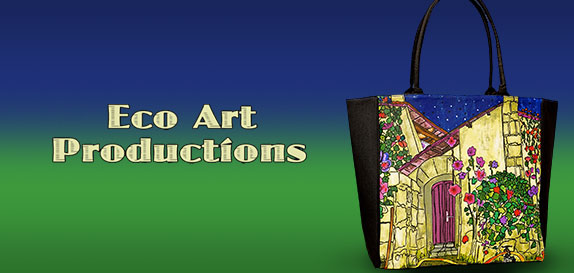 Eco Art Productions Handbags