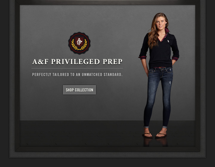 A&F PRIVILEGED PREP PERFECTLY TAILORED 