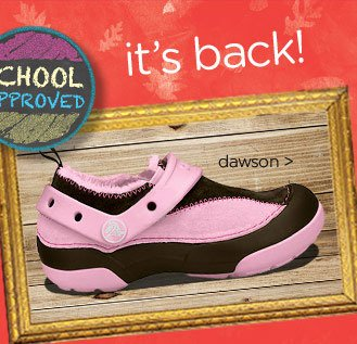 school approved! it's back!