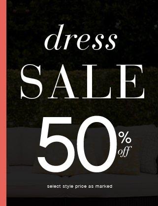 shop 50% OFF Dresses