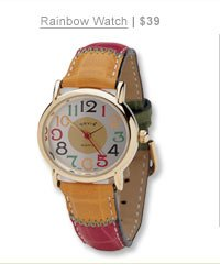 Rainbow Watch | $39