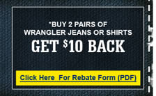 Everything Wrangler Rebate Form
