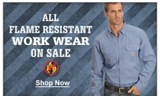 All Flame Resistant Work Wear On Sale