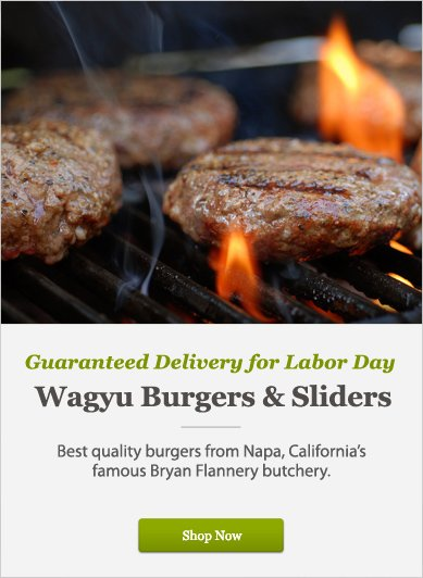 Wagyu Burgers & Sliders - Shop Now
