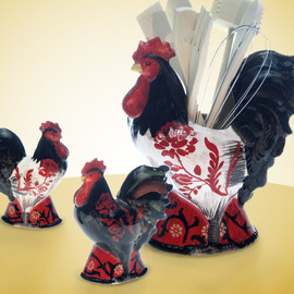 Count Your Chickens: Dishware & Dcor