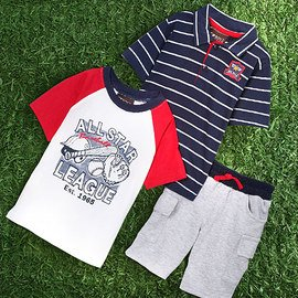 Season's End: Boys' Summer Apparel